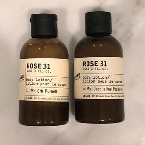 Le Labo body lotion -scent is Rose 31 x2 new